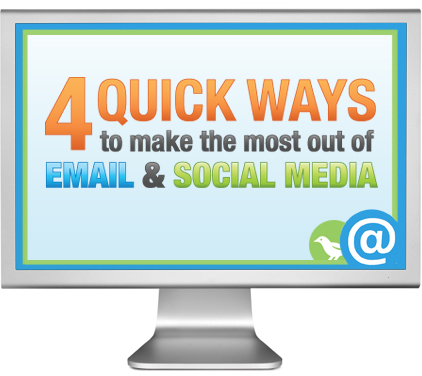 4 Ways to Make the Most of Email + Social